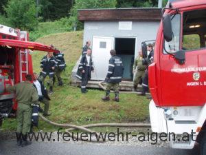 Hochwassereinsatz Pruggern 2010