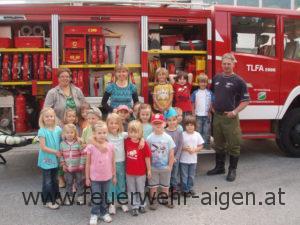 Kindergartenbesuch 2010