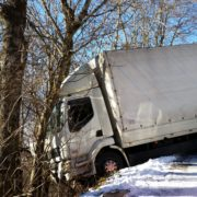 Verkehrsunfall vorberg